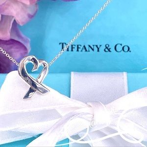 Tiffany & Co. Paloma Picasso Paloma's Loving Heart Pendant in Sterling Silver